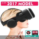virtual reality 3d headset with headphones