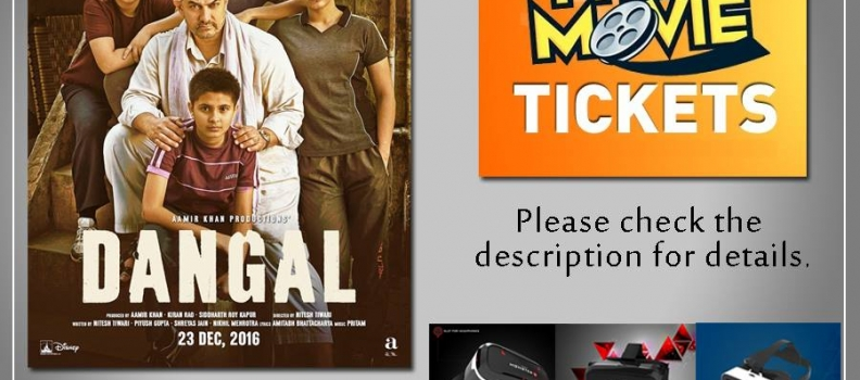 Dangal Movie Tickets