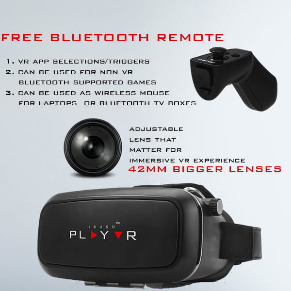 PLAY VR with remote  – VR Headset