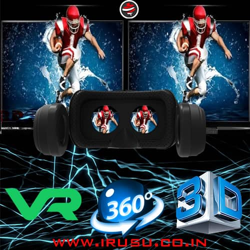 virtual reality 3d and 360 videos