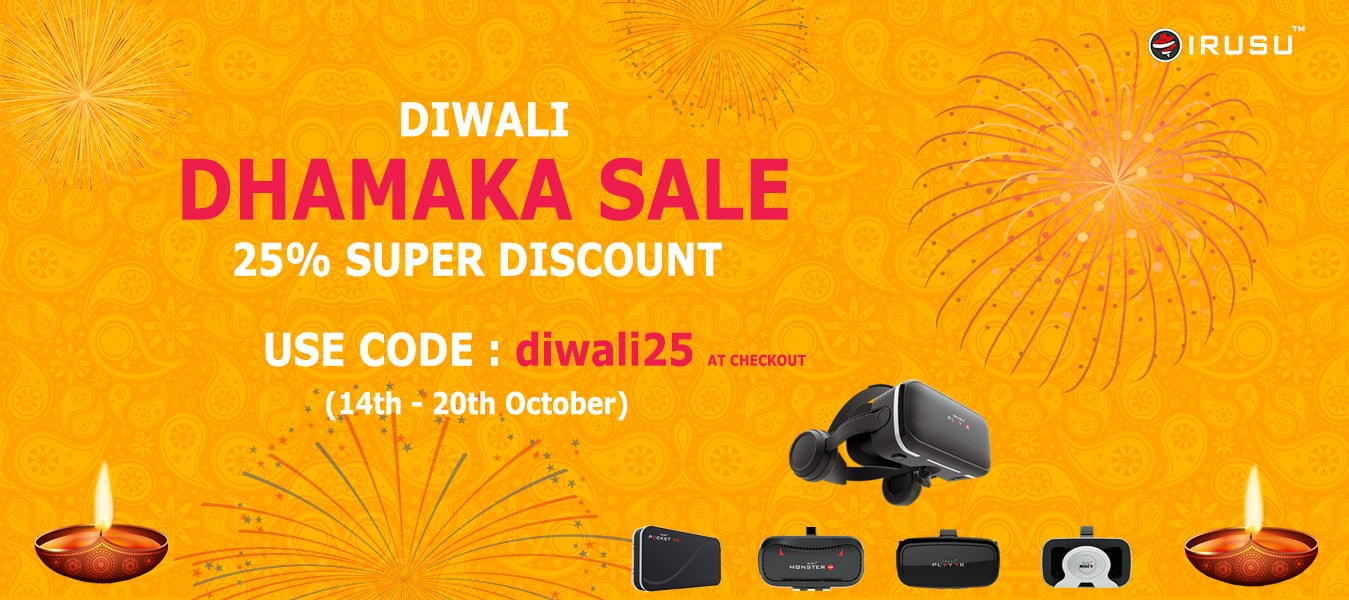 Irusu Diwali offer ,Diwali offer on vr headset