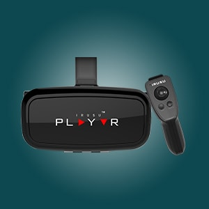 3d virtual reality headset with remote in india