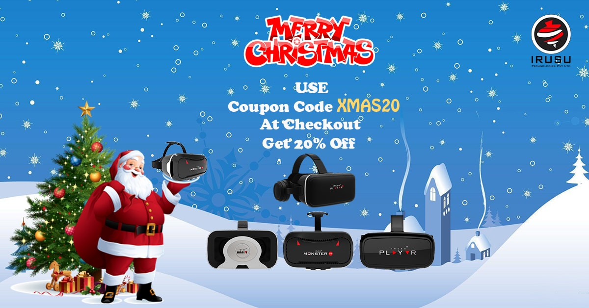 Christmas offer on vr headsets