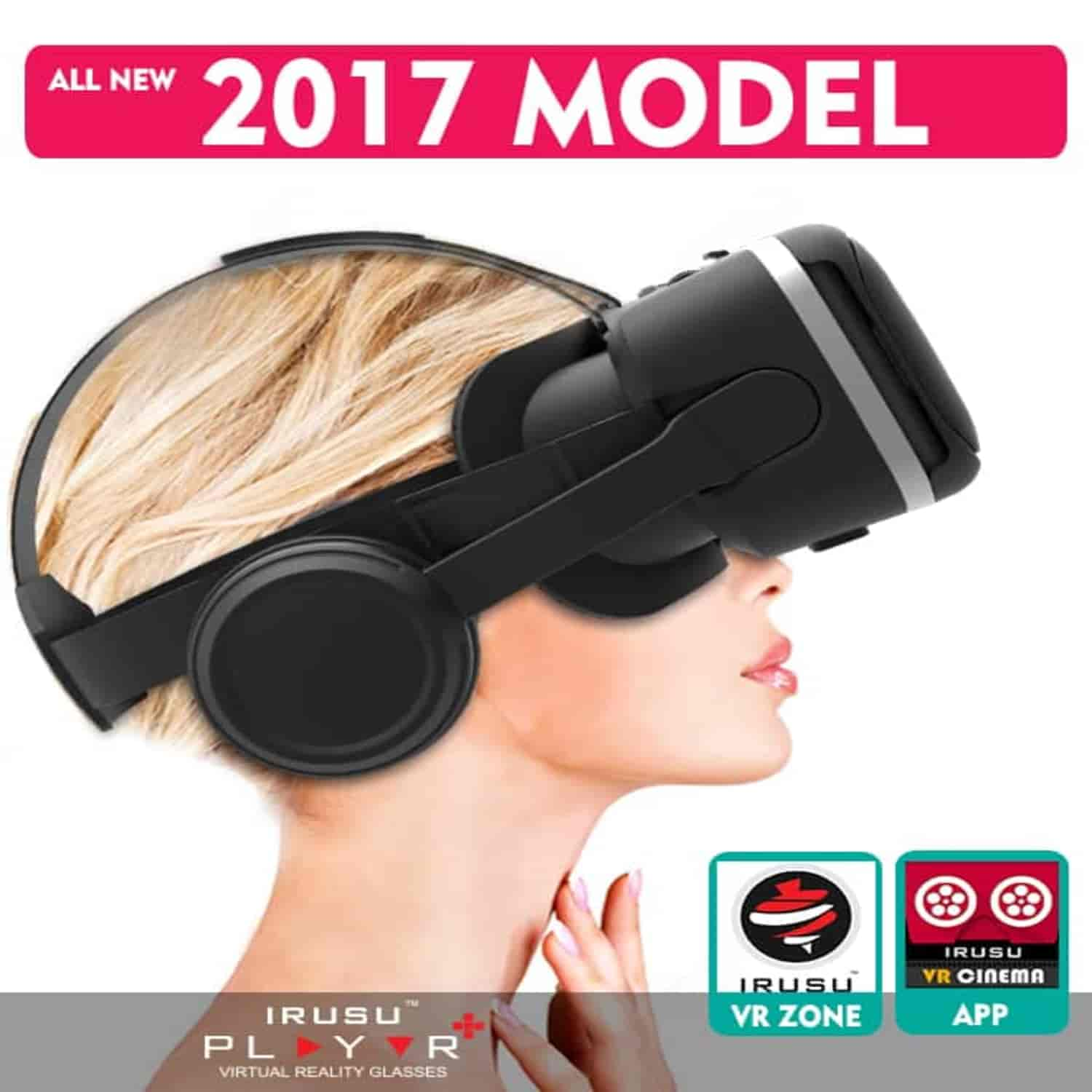 Irusu play vr plus vr headset in india for mobiles